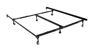 Adjustable metal queen/king bed frame for Sale in Everett, WA