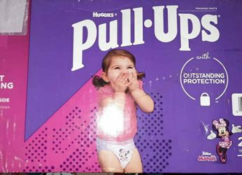 Girls Huggies Pullups Size 2/3t for Sale in Damascus,  OR
