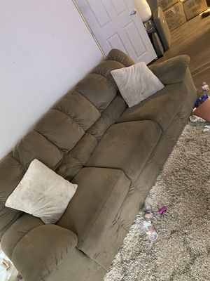 $150 rocking reclining chair and couch must be picked up by 9/21 for Sale in Sacramento, CA