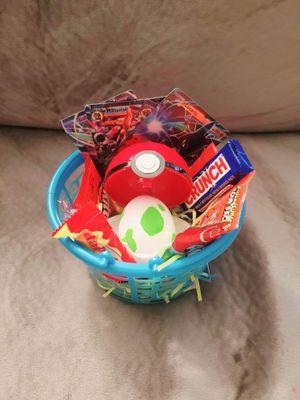 Pokemon Theme Easter Basket for Sale in Houston, TX