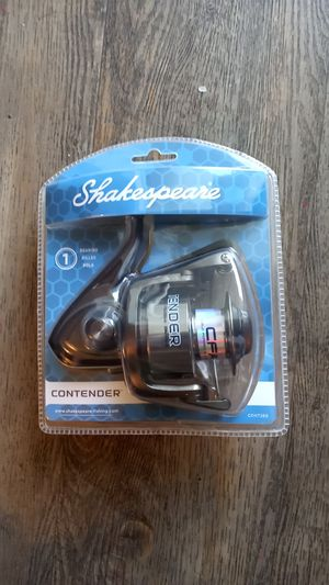 Brand New Shakespeare contender fishing reel for Sale in Long Beach, CA