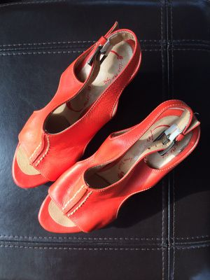 Designer Carlos Velez leather sandals for Sale in Orlando, FL