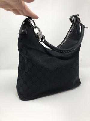 Authentic Gucci black monogram shoulder bag for Sale in Los Angeles, CA