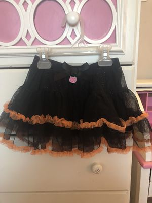 Girls size 18 months hello kitty Halloween skirt for Sale in Colton, CA