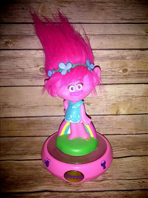 Trolls Colorful Nightlight & Sound Room Glow for Sale in Houston, TX