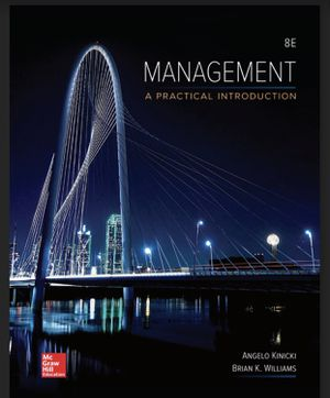 management a practical introduction 8th edition for Sale in Tempe, AZ