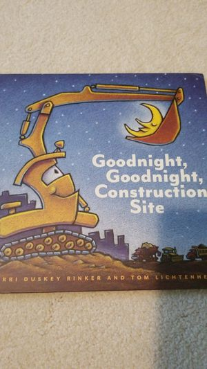 #1 New York Tines Bestseller- Goodnight, Goodnight Construction Site for Sale in Falls Church, VA
