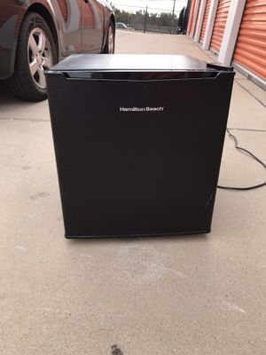 Mini fridge with small freezer inside for Sale in San Angelo, TX