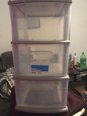 Plastic drawers for Sale in Murfreesboro, TN