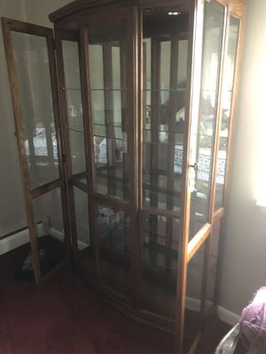 Glass Curio/Display Case for Sale in Gambrills, MD