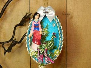 """""""Mulan"""" Handmade Ornament for Sale in Glendale, AZ"""