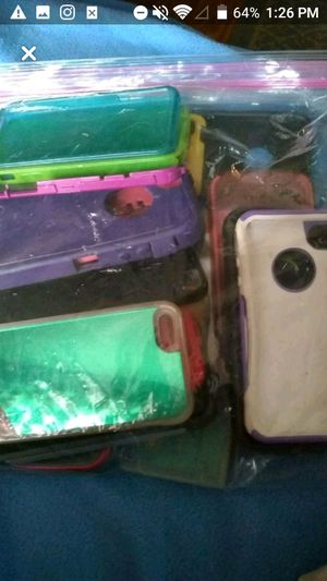 Bag full of iPhone cases for Sale in Pekin, IL