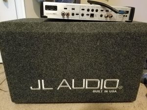JL Audio W6 subwoofer and JL Audio amp for Sale in VINT HILL FRM, VA