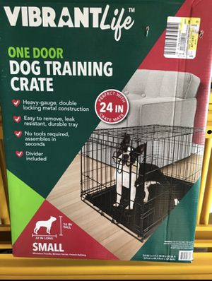 Small dog crate for Sale in Denver, CO