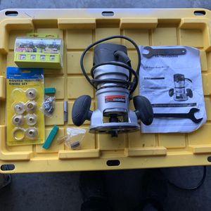 Drill master router with assesories for $50 or best offer for Sale in Heathrow, FL