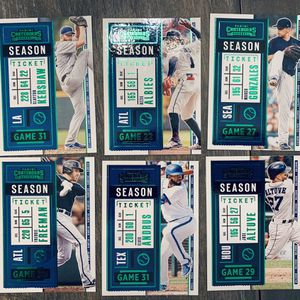 Panini contenders Baseball Green parallel Card Lot for Sale in Vista, CA