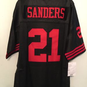 Brand new 49ers Sanders throwback jersey for Sale in San Francisco, CA