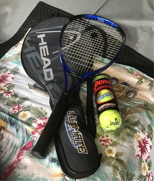Head tennis racket with carry bag for Sale in Corona, CA
