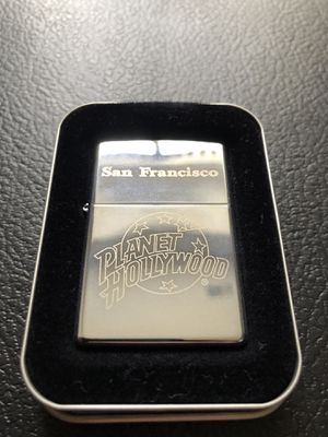 Vintage SF planet Hollywood zippo for Sale in Clinton Township, MI