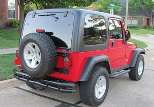 Red 2004 WRANGLER JEEP 4X4 AWDWheels Good for Sale in Pueblo, CO
