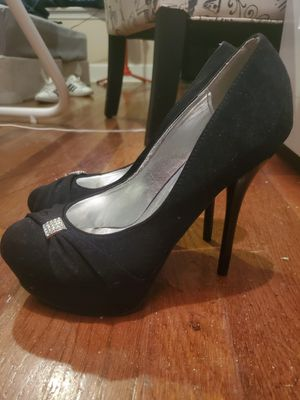 Black heels size 9 for Sale in Lillington, NC