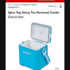 Igloo Tag Along Too Personal Cooler for Sale in Hesperia, CA