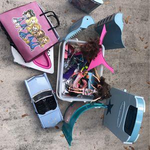 Bratz Dolls, Clothes, Accessories, Car & Stage/Jacuzzi for Sale in West Palm Beach, FL