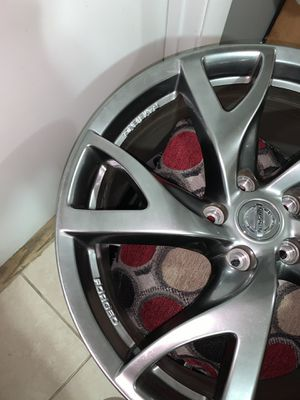 19x10 Rays Eng forged wheels. 350/370z for Sale in Chevy Chase, MD