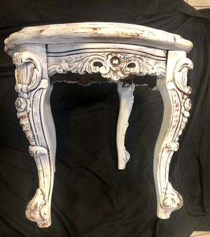 White Ornate Table for Sale in Baltimore, MD
