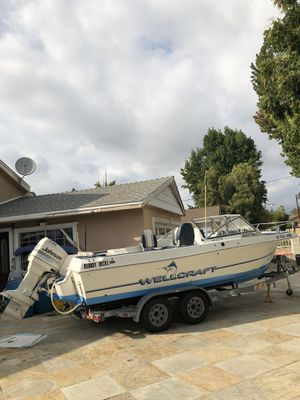 1995 Wellcratf V21 for Sale in Los Angeles, CA
