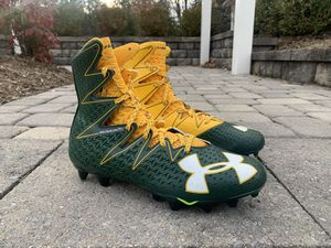 Green and Yellow Under Armour Highlight Size 11.5 for Sale in Woodbridge, VA