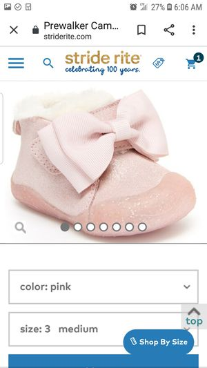 Stride Rite baby girl boots for Sale in Bradenton, FL