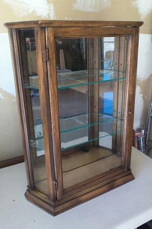 Mirrored Display Cabinet for Sale in Roseville, CA