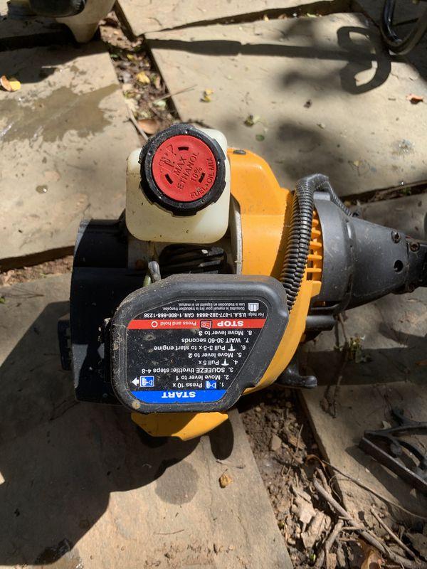 Cub Cadet and Stihl gas trimmer