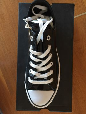 Black Patent Women's Converse Tennis Shoes-10 M for Sale in San Francisco, CA