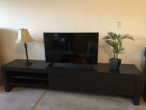 Long TV stand /entertainment center for Sale in Cave Creek, AZ