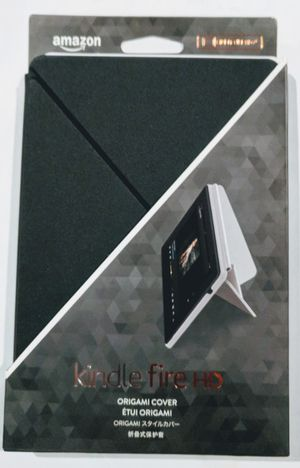 """Kindle Fire HD 7"""" Origami Cover in Black for Sale in Orlando, FL"""