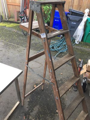 Wooden step ladder. for Sale in Portland, OR