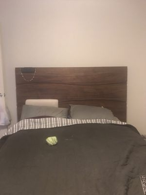 Bedroom set Queen headboard with dresser mirror and nightstand for Sale in Seattle, WA