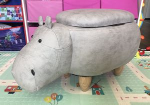 Hippo storage ottoman stool for Sale in West Valley City, UT