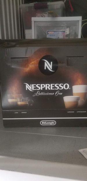 Nespresso lattissino one for Sale in Gardena, CA