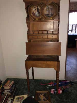 Antique secretary desk for Sale in Whittier, CA
