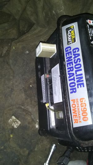 Power craft pro generator 63cc for Sale in Nashville, TN