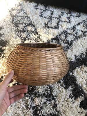 Boho Basket for a plant 🌱 or storage for Sale in Granite Bay, CA