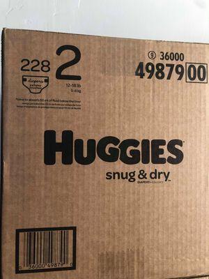Huggies snug dry size 2 for Sale in Norwalk, CA