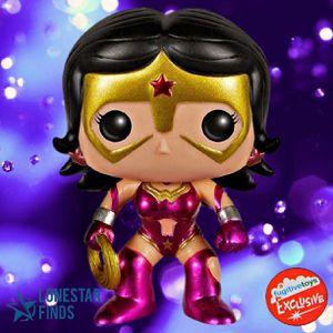 Funko POP! DC Super Heroes Metallic Star Sapphire Wonder Woman Fugitive Toys Exclusive Figure #61! for Sale in Universal City, TX