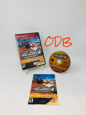 Tony Hawk Pro Skater 4 - PlayStation PS2 for Sale in Parkville, MO