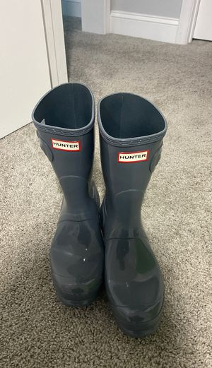 Hunter Rain Boots (10 Female) for Sale in Durham, NC