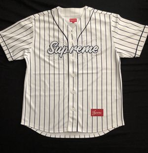 Supreme Pinstripe jersey SS20 New and unused size Medium for Sale in Vallejo, CA