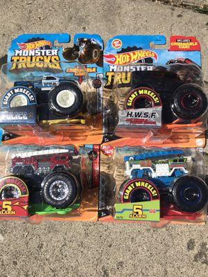 Hotwheels monster trucks for Sale in Los Angeles, CA